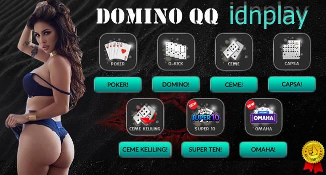Domino QQ Permainan Terpopuler di IDNPLAY
